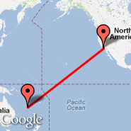 Los Angeles (Los Angeles International, LAX) - Noumea (Tontouta, NOU)