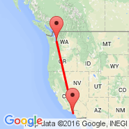 Long Beach (Long Beach Municipal, LGB) - Seattle (Seattle-Tacoma International, SEA)