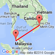Langkawi (Langakawi Intl, LGK) - Ho Chi Minh City (Tan Son Nhat International, SGN)