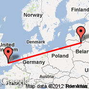London (Metropolitan Area, LON) - Daugavpils (Daugavpils International Airport, DGP)