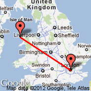 London (Metropolitan Area, LON) - Holyhead (Anglesey Airport, HLY)