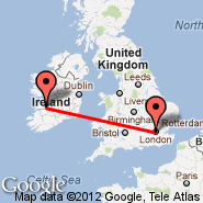 London (Metropolitan Area, LON) - Shannon (Shannon International Airport, SNN)