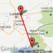Lusaka (Lusaka International Airport, LUN) - Kariba (Kariba International Airport, KAB)