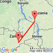 Lusaka (Lusaka International Airport, LUN) - Mbeya (MBI)