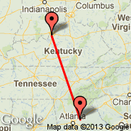 Lawrenceville (Gwinnett County Airport, LZU) - Louisville (Louisville International, SDF)