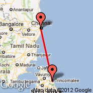 Chennai (Madras International, MAA) - Trincomalee (China Bay, TRR)