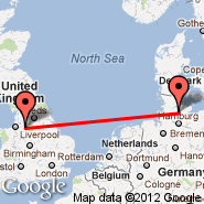 Manchester (Ringway International Airport, MAN) - Neumuenster (Wasbek, EUM)