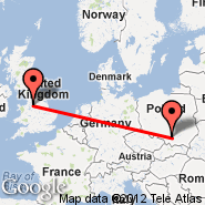 Manchester (Ringway International Airport, MAN) - Krakow (J. Paul Ii Balice Intl, KRK)