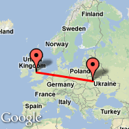 Manchester (Ringway International Airport, MAN) - Rovno (Rovno, RWN)