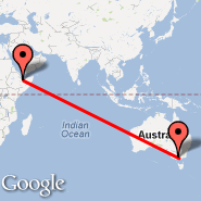 Melbourne (Tullamarine, MEL) - Hargeisa (Egal International Airport, HGA)