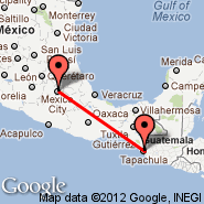 Mexico City (Internacional Benito Juarez, MEX) - Tapachula (Tapachula International, TAP)