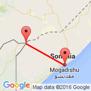 Mogadishu (Mogadishu International Airport, MGQ) - Mandera (NDE)