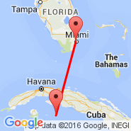 Miami (Miami International Airport, MIA) - Cayo Largo del Sur (Vilo Acu, CYO)