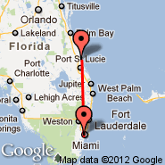 Miami (Miami International Airport, MIA) - Fort Pierce (St Lucie County, FPR)