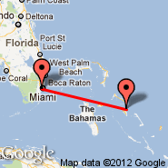 Miami (Miami International Airport, MIA) - Eleuthera South (S Eleuthera, RSD)