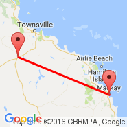 Mackay (MKY) - Charters Towers (CXT)