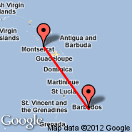 Montserrat (MNI) - Barbados (Grantley Adams International, BGI)