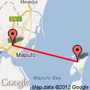 Maputo (Maputo International, MPM) - Inhaca (IHC)