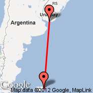 Montevideo (Carrasco International, MVD) - Port Stanley (PSY)