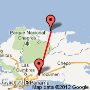 Nargana (NGN) - Panama City (Tocumen International, PTY)