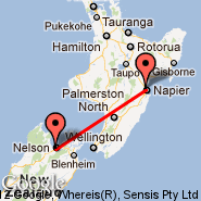 Nelson (NSN) - Napier (Hawkes Bay, NPE)