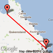 Normanton (NTN) - Brisbane (Brisbane International, BNE)