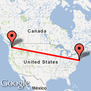 New York (Metropolitan Area, NYC) - Seattle (Seattle-Tacoma International, SEA)