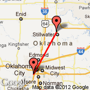 Oklahoma City (Will Rogers World Airport, OKC) - Stillwater (Searcy Fld, SWO)