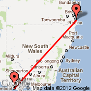 Gold Coast (OOL) - Warrnambool (WMB)