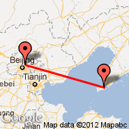 Beijing (Beijing Capital Int., PEK) - Dalian (Zhoushuizi International Airport, DLC)