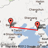Beijing (Beijing Capital Int., PEK) - Pyongyang (Sunan International, FNJ)