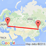 Beijing (Beijing Capital Int., PEK) - Odessa (Odessa International, ODS)