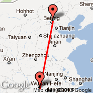 Beijing (Beijing Capital Int., PEK) - Wuhan (Tianhe International, WUH)