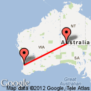 Perth (Perth International, PER) - Ayers Rock (Connellan, AYQ)