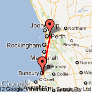 Perth (Perth International, PER) - Bunbury (BUY)