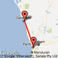 Perth (Perth International, PER) - Geraldton (GET)