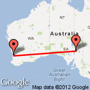 Perth (Perth International, PER) - Leigh Creek (LGH)