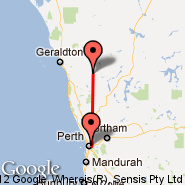 Perth (Perth International, PER) - Morawa (MWB)