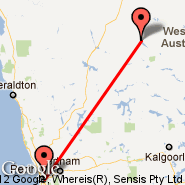 Perth (Perth International, PER) - Wiluna (WUN)