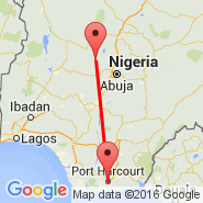 Port Harcourt (Port Harcourt City, PHG) - Minna (MXJ)