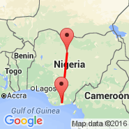 Port Harcourt (Port Harcourt City, PHG) - Zaria (ZAR)
