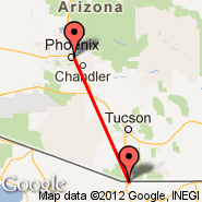Phoenix (Sky Harbor Intl, PHX) - Nogales (Nogales International Airport, NOG)