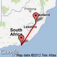 Port Elizabeth (PLZ) - Ladysmith (LAY)