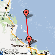 Palm Island (PMK) - Townsville (Townsville International, TSV)