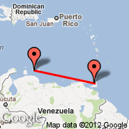 Port-of-Spain (Piarco International, POS) - Curacao (Hato International Airport, CUR)