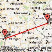 Prague (Prague - Ruzyne International, PRG) - Strasbourg (Entzheim, SXB)