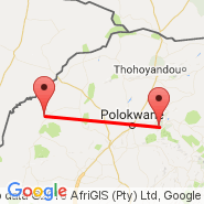 Polokwane (Polokwane International Airport, PTG) - Ellisras (ELL)