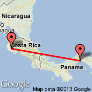 Panama City (Tocumen International, PTY) - Nicoya (Guanacaste, NCT)