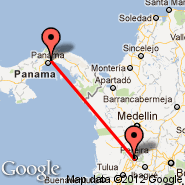 Panama City (Tocumen International, PTY) - Pereira (Matecana, PEI)