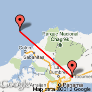 Panama City (Tocumen International, PTY) - Puerto Obaldia (PUE)